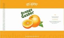 Decadent Orange Gusher 16oz Can