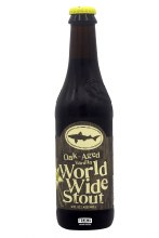 Dogfish Head Brewery Oak Aged Vanilla World Wide Stout 12oz Bottle