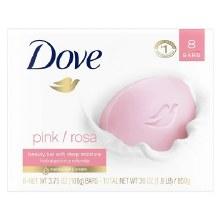 Dove Pink/Rosa Bar Soap
