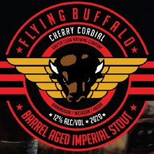 Griffin Claw Flying Buffalo Cherry Cordial 16oz Can