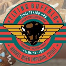 Griffin Claw Flying Buffalo Gingerbread Man 16oz Can