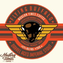 Griffin Claw Flying Buffalo Modern Times Coffee 16oz Can