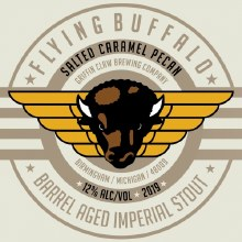 Griffin Claw Flying Buffalo Salted Caramel Pecan 16oz Can