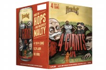 Founders Brewing 4 Giants IPA 4 Pack 16oz Cans