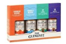 Glenlivet Single Malt Variety 4 Pack 50ml