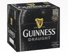 Guiness Draught 12 Pack Bottles