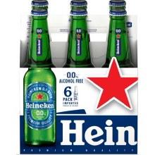 Heineken Non Alcoholic 6 Pack Bottles