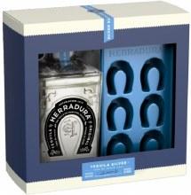 Herradura Silver 750ml Gift Set with Ice Mold