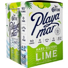 Jose Cuervo Playa Mar Lime Hard Seltzer 4 Pack Cans