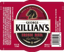 George Killians Irish Red 1/2 Barrel