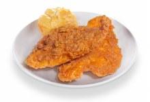 1 Piece Cajun Catfish w/ 1 Honey Butter Biscuit
