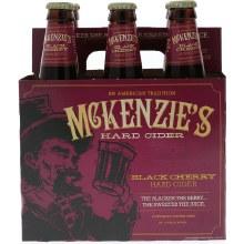 Mckenzies Black Cherry 6 Pack Bottles