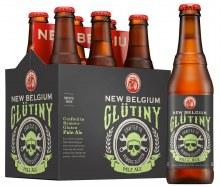 New Belgium Glutiny Pale Ale 6 Pack Bottles