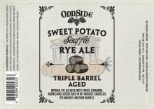 Oddside Ales Triple Barrel Aged Sweet Potato Souffle 12oz Bottle