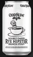 Oddside Ales Double Oaked Rye Hipster Brunch Stout 12oz Can