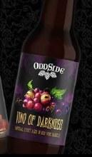 Oddside Ales Vino Of Darkness 12oz Bottle