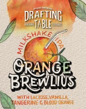 Drafting Table Orange Brewlius 1/6 Barrel