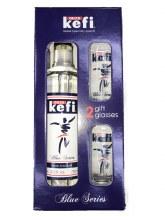 Ouzo Kefi Gift Set 750ml