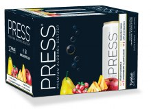 Press Hard Seltzer Variety 12 Pack Cans