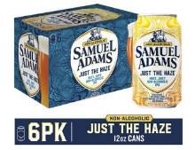 Samuel Adams Just The Haze 6 Pack Cans