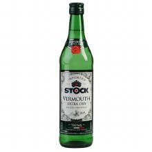 Stock Dry Vermouth 750ml