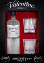 Valentine Vodka Gift Set 750ml