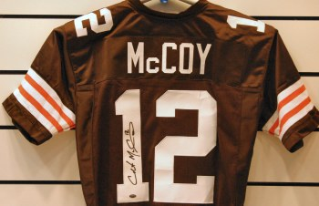 COLT MCCOY SIGNED BROWNS JERSEY