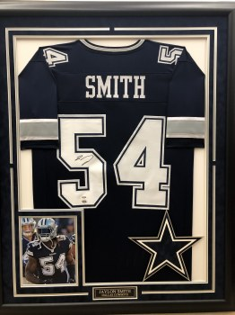 JAYLON SMITH - COWBOYS FRAMED JERSEY