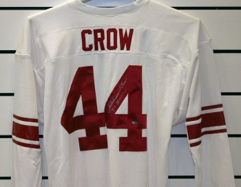 JD CROW - TEXAS A&M UNFRAMED SIGNED JERSEY