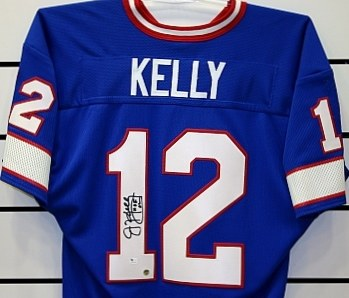 SIGNED JIM KELLY BILLS JERSEY