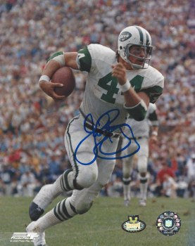 JOHN RIGGINS AUTOGRAPHED HAND SIGNED JETS 8X10 PHOTO