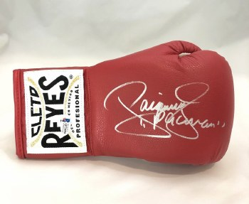 MANNY PACQUIAO AUTOGRAPHED HAND SIGNED BOXING GLOVE