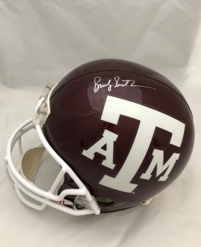 BUCKY RICHARDSON AUTOGRAPHED HAND SIGNED FULL SIZE REPLICA TEXAS A&M HELMET
