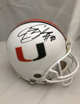 JEREMY SHOCKEY AUTOGRAHED HAND SIGNED FULL SIZE AUTHENTIC MIAMI HELMET