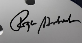 ROGER STAUBACH - BASIC SIGNING TICKET