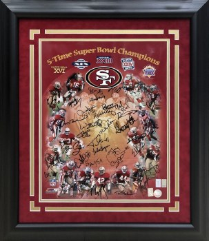 49ERS 5 TIME SB CHAMPIONS