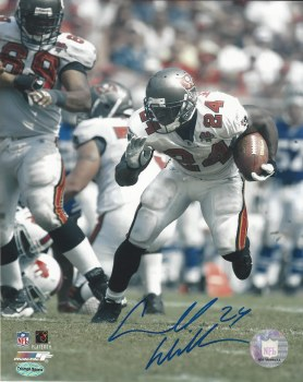 CARDELL WILLIAMS AUTOGRAPHED HAND SIGNED TAMPA BAY BUCCANEERS 8X10 PHOTO