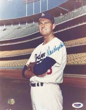 DON DRYSDALE AUTOGRAPHED HAND SIGNED 8X10 PHOTO