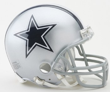 UNSIGNED COWBOYS MINI HELMET