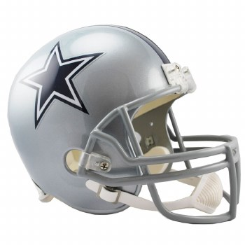 UNSIGNED COWBOYS REPLICA HELMET