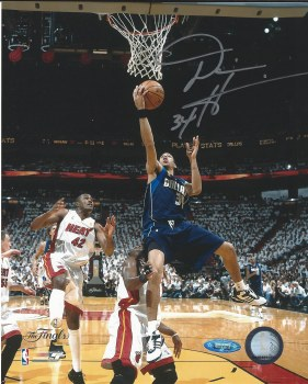 DEVIN HARRIS AUTOGRAPHED HAND SIGNED 8X10 DALLAS MAVERICKS PHOTO