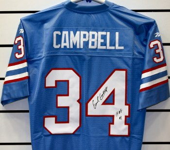 EARL CAMPBELL - OILERS