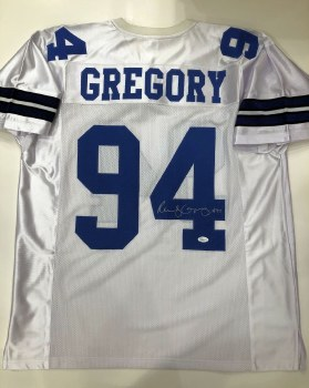 RANDY GREGORY AUTOGRAPHED HAND SIGNED DALLAS COWBOYS JERSEY