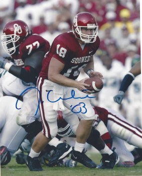 JASON WHITE AUTOGRAPHED HAND SIGNED OKLAHOMA SOONERS 8X10 PHOTO