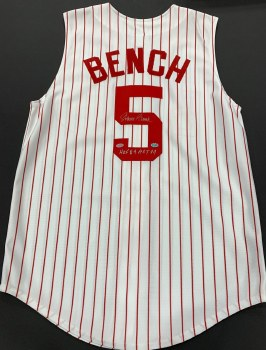 JOHNNY BENCH - REDS
