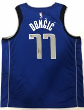LUKA DONCIC AUTOGRAPHED HAND SIGNED MAVERICKS JERSEY