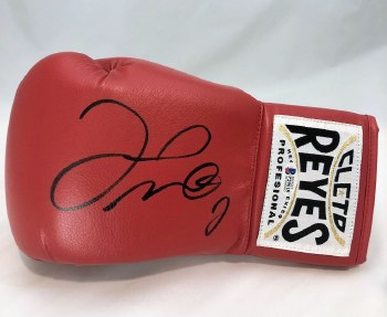 FLOYD MAYWEATHER JR.  AUTOGRAPHED HAND SIGNED BOXING GLOVE