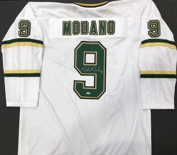MIKE MODANO AUTOGRAPHED HAND SIGNED DALLAS STARS JERSEY
