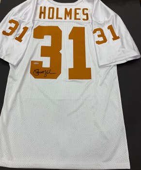 PRIEST HOLMES SIGNED UT JERSEY