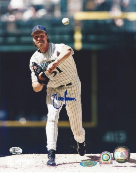 RANDY JOHNSON AUTOGRAPHED HAND SIGNED DIAMONDBACKS 8X10 PHOTO